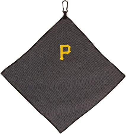 "Team Effort Pittsburgh Pirates 15"" x 15"" Microfiber Golf Towel"