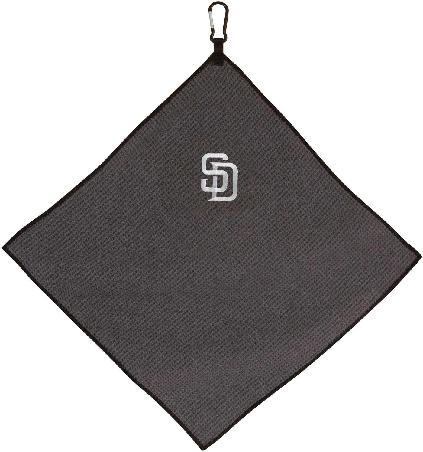 """Team Effort San Diego Padres 15"""" x 15"""" Microfiber Golf Towel"""