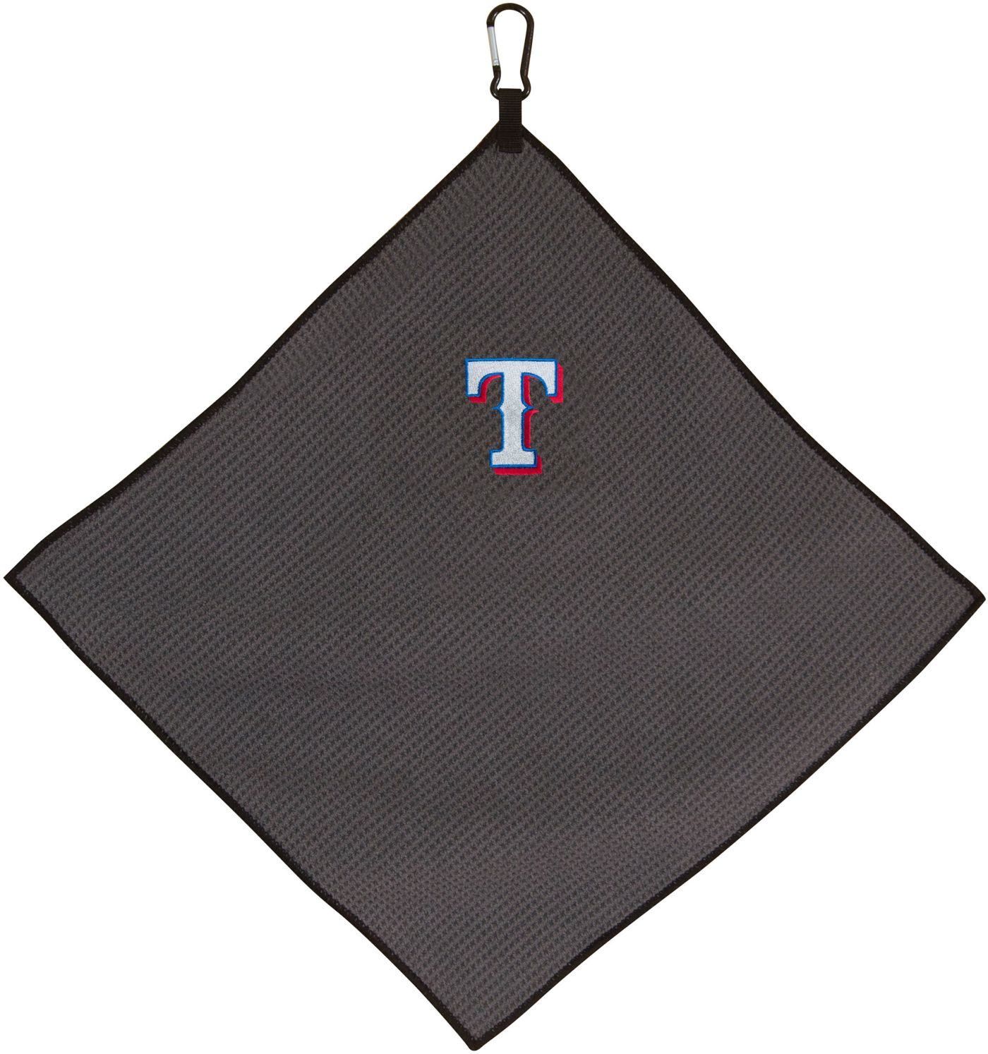 "Team Effort Texas Rangers 15"" x 15"" Microfiber Golf Towel"