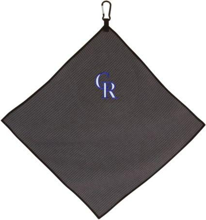 "Team Effort Colorado Rockies 15"" x 15"" Microfiber Golf Towel"