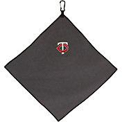 """Team Effort Minnesota Twins 15"""" x 15"""" Microfiber Golf Towel"""