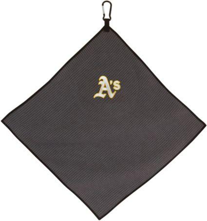 "Team Effort Oakland Athletics 15"" x 15"" Microfiber Golf Towel"