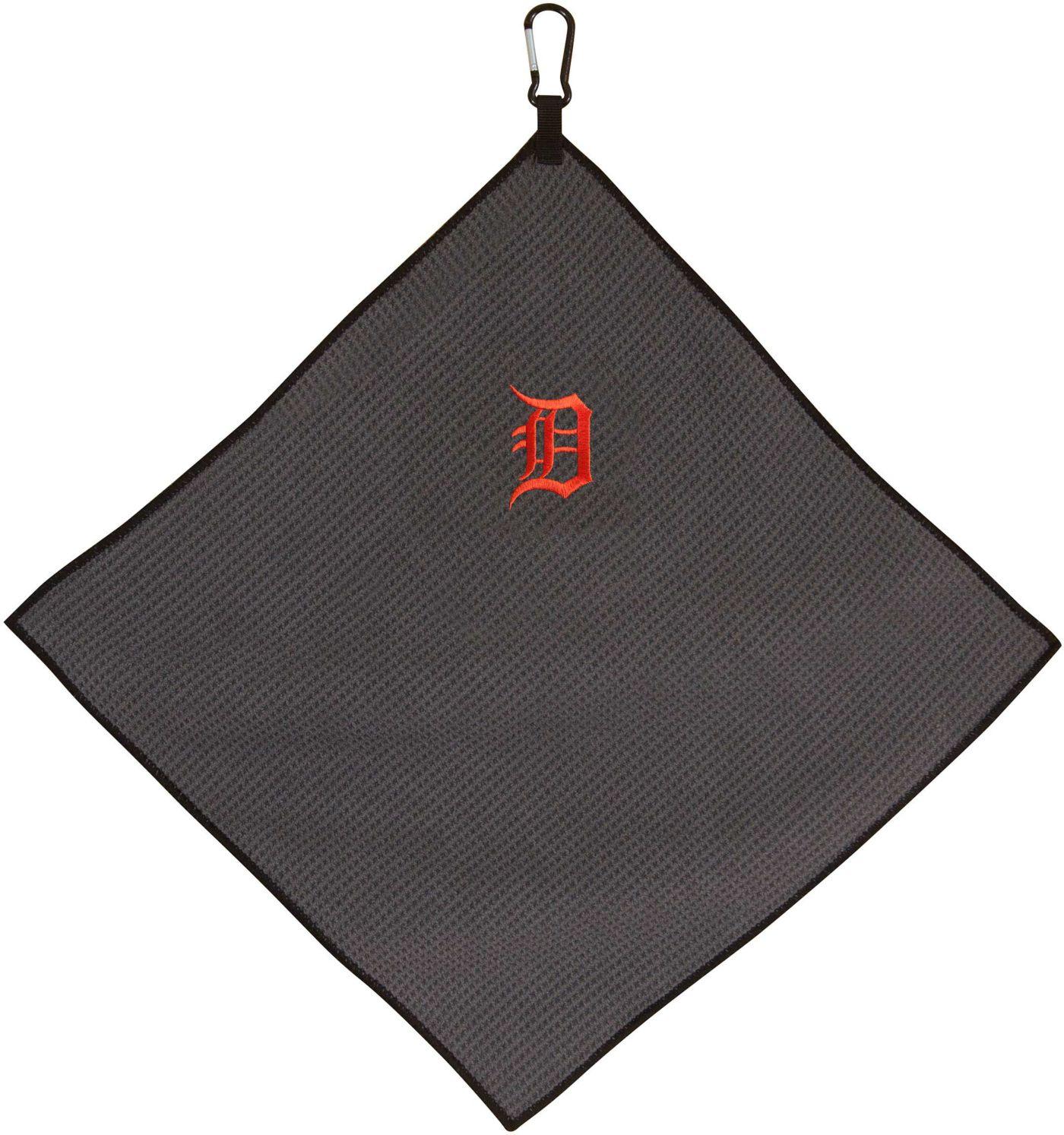 "Team Effort Detroit Tigers 15"" x 15"" Microfiber Golf Towel"