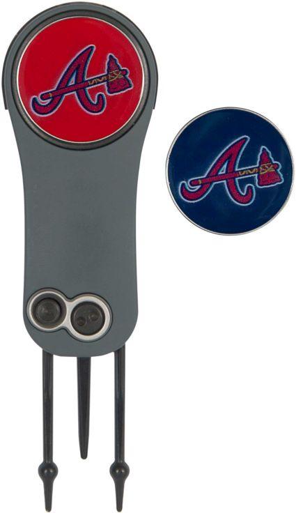 Team Effort Atlanta Braves Switchblade Divot Tool and Ball Marker Set