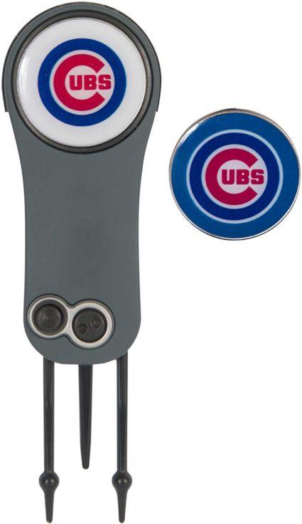 Team Effort Chicago Cubs Switchblade Divot Tool and Ball Marker Set