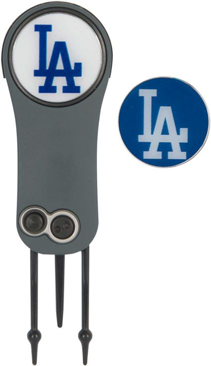 Team Effort Los Angeles Dodgers Switchblade Divot Tool and Ball Marker Set