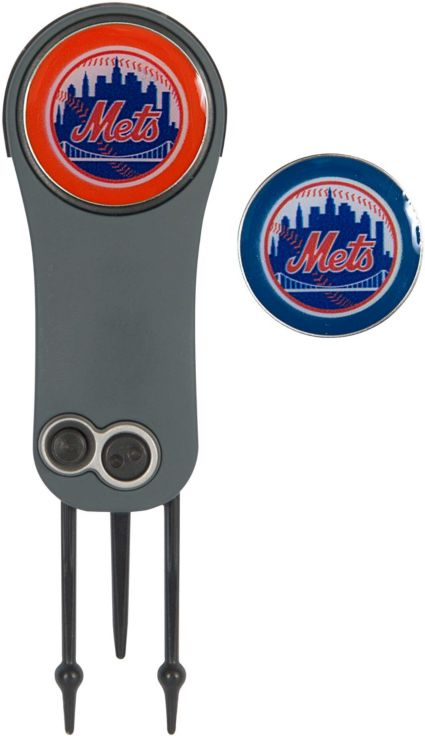 Team Effort New York Mets Switchblade Divot Tool and Ball Marker Set