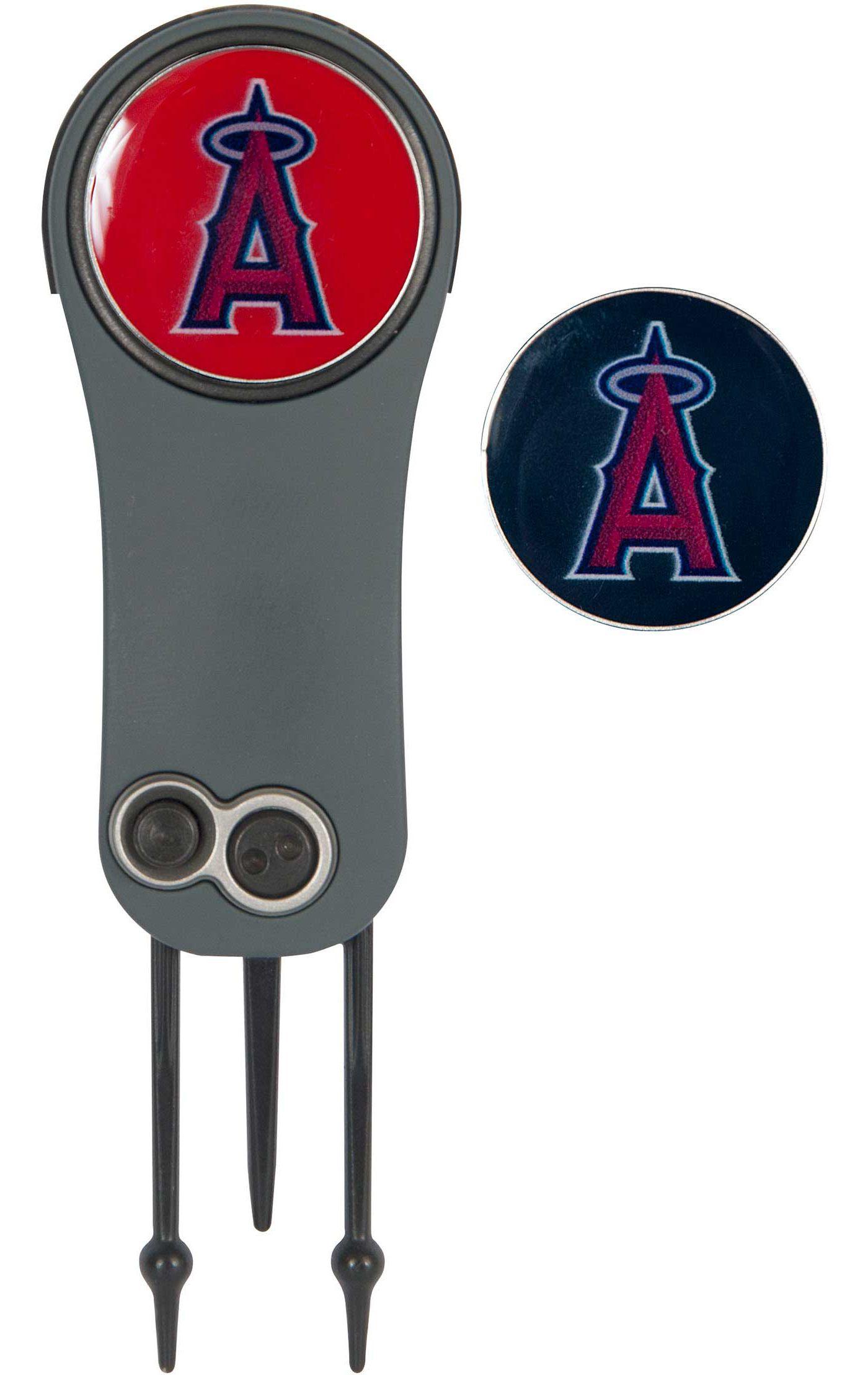 Team Effort Los Angeles Angels Switchblade Divot Tool and Ball Marker Set