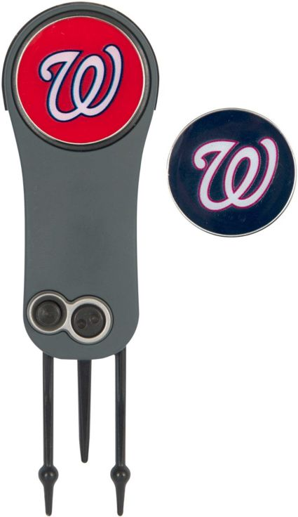 Team Effort Washington Nationals Switchblade Divot Tool and Ball Marker Set