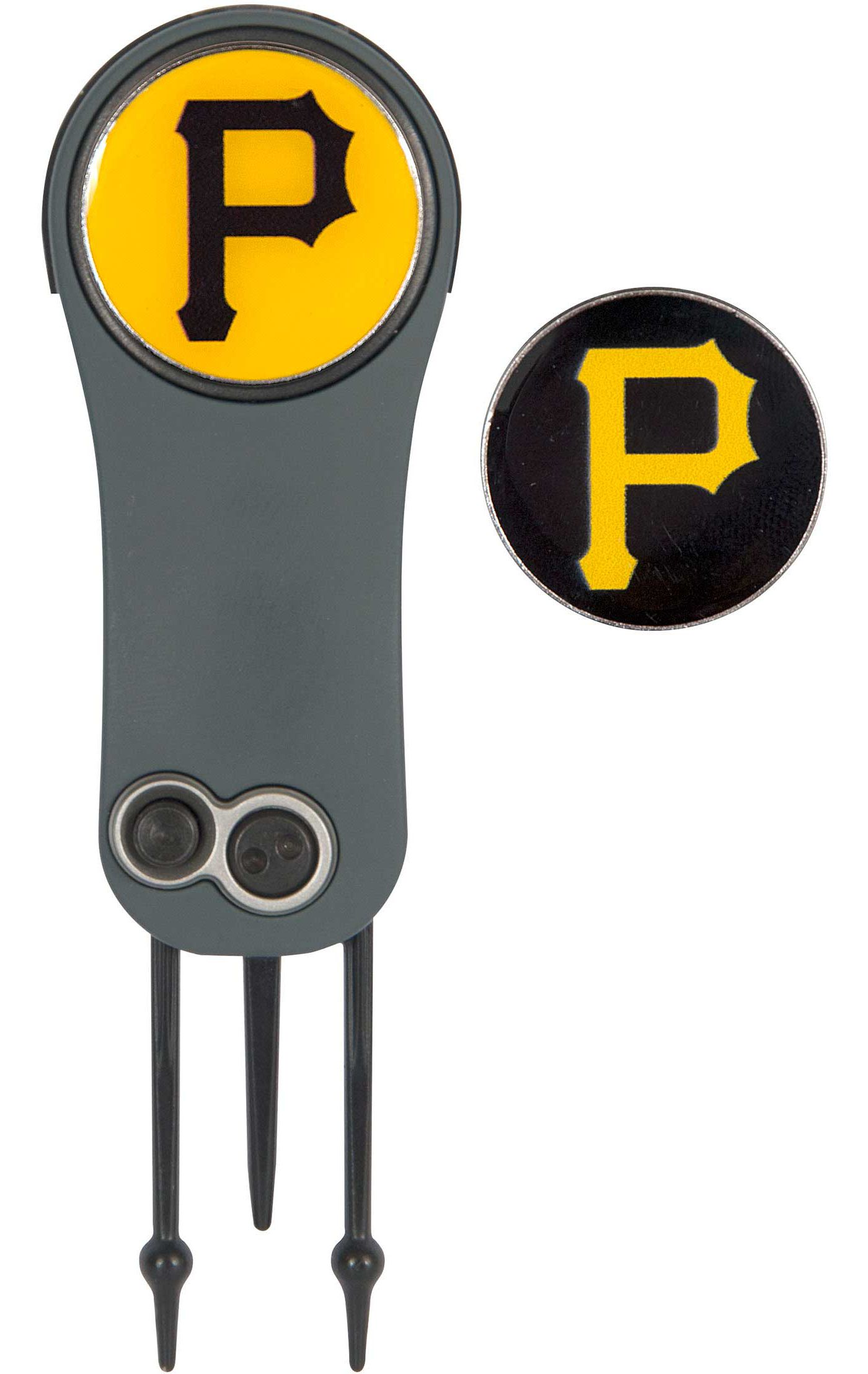 Team Effort Pittsburgh Pirates Switchblade Divot Tool and Ball Marker Set