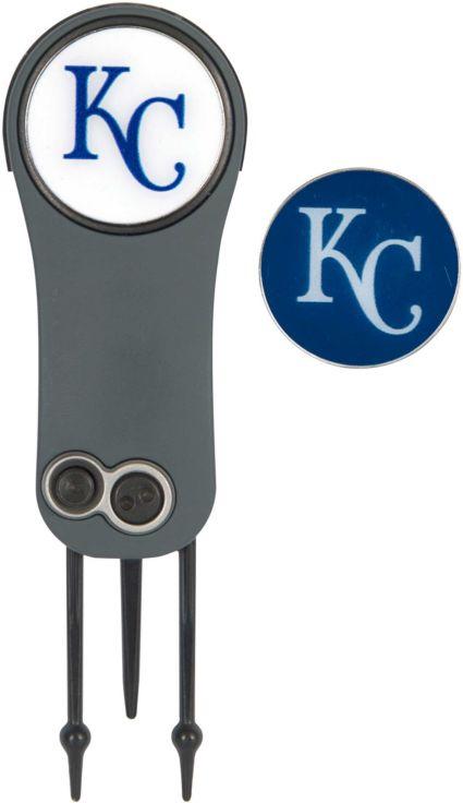 Team Effort Kansas City Royals Switchblade Divot Tool and Ball Marker Set