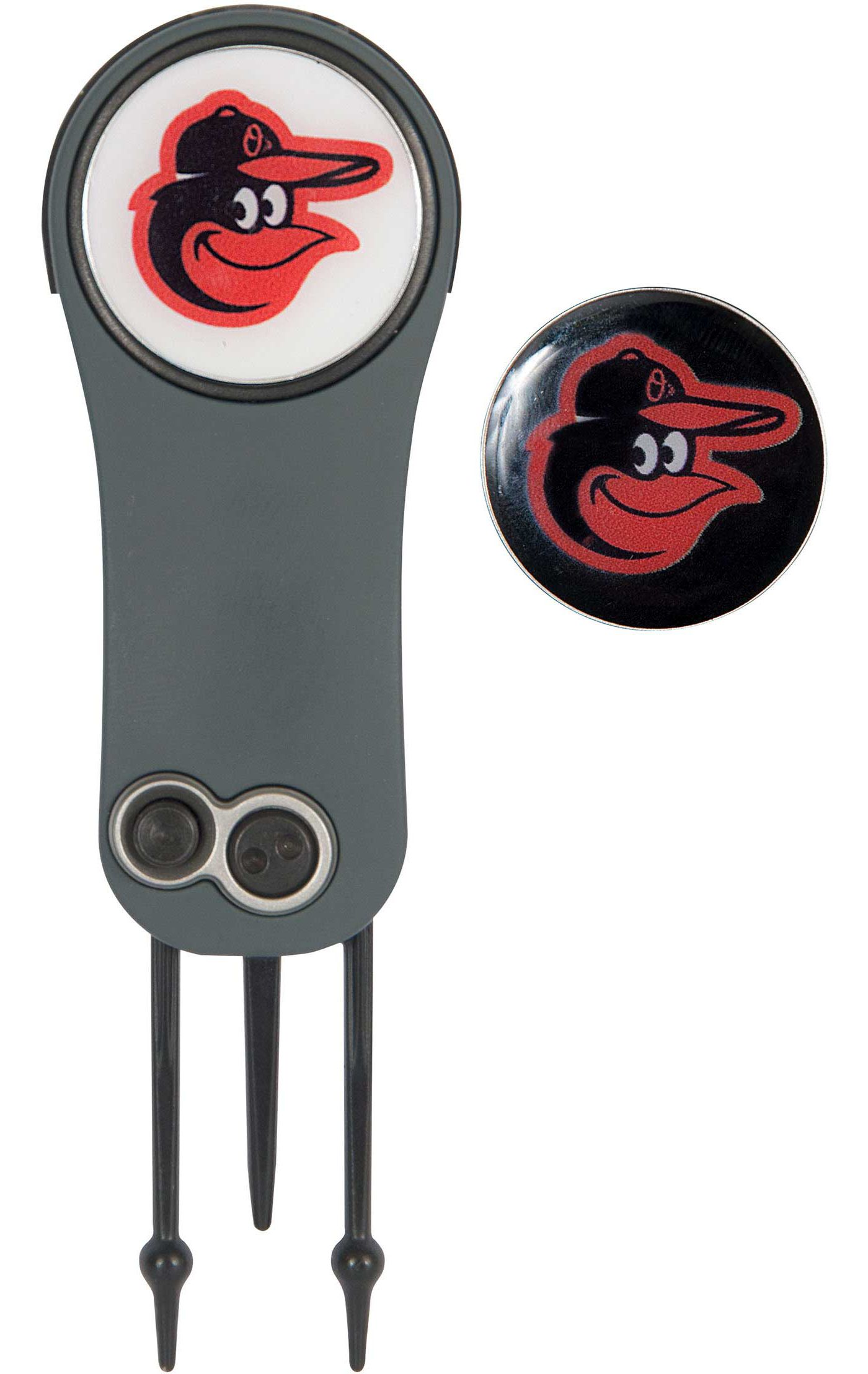 Team Effort Baltimore Orioles Switchblade Divot Tool and Ball Marker Set