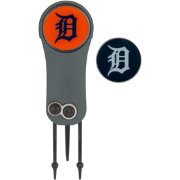 Team Effort Detroit Tigers Switchblade Divot Tool and Ball Marker Set
