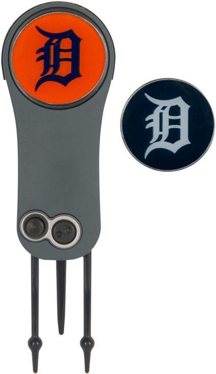 Team Effort Detroit Tigers Switchblade Divot Tool and Ball Marker Set