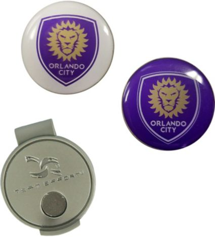 Team Effort Orlando City Hat Clip and Ball Markers Set