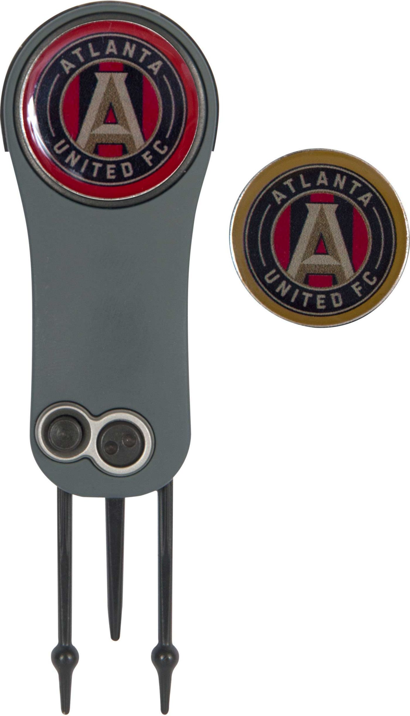Team Effort Atlanta United Switchblade Divot Tool and Ball Marker Set