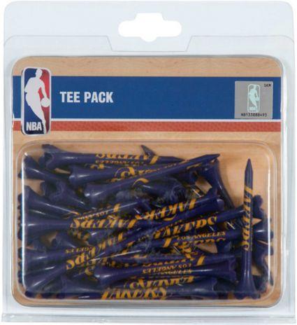 """Team Effort Los Angeles Lakers 2.75"""" Golf Tees - 40 Pack"""