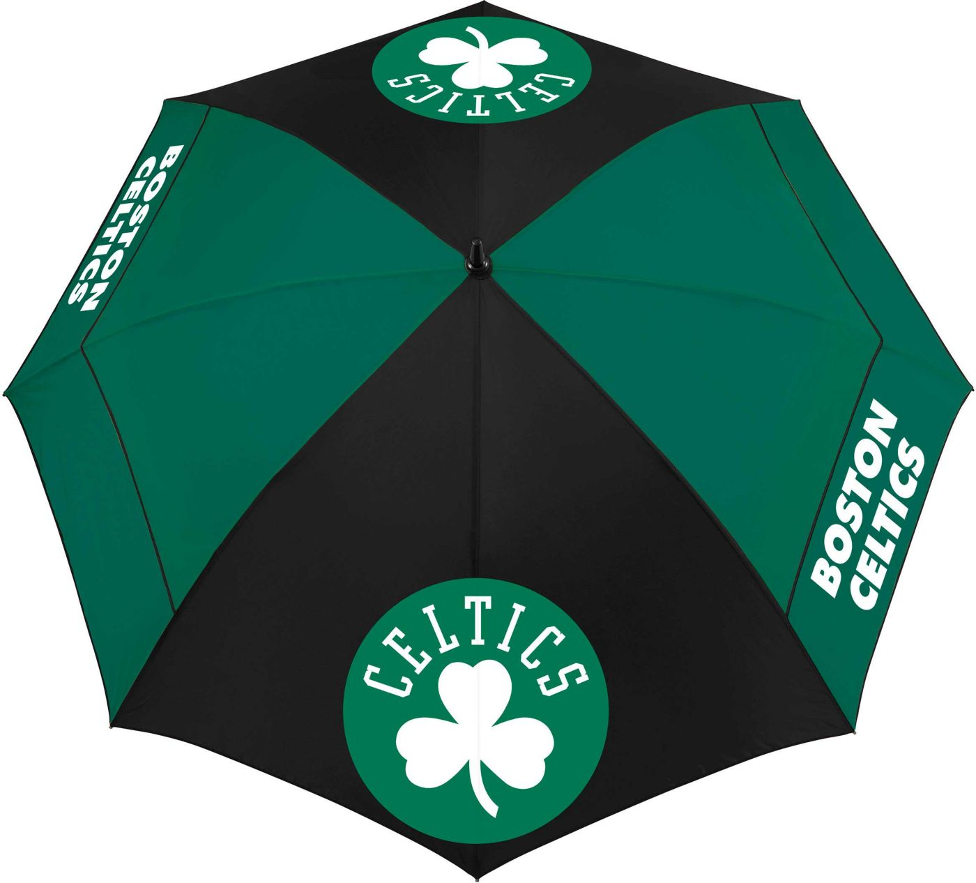 "Team Effort Boston Celtics 62"" Windsheer Lite Golf Umbrella"