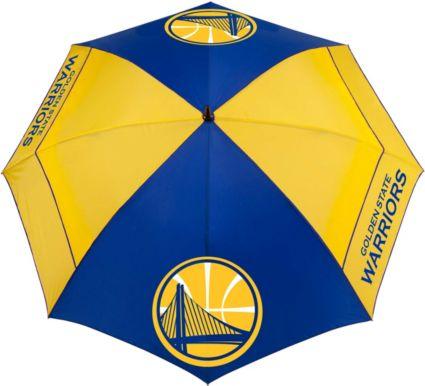 """Team Effort Golden State Warriors 62"""" Windsheer Lite Golf Umbrella"""