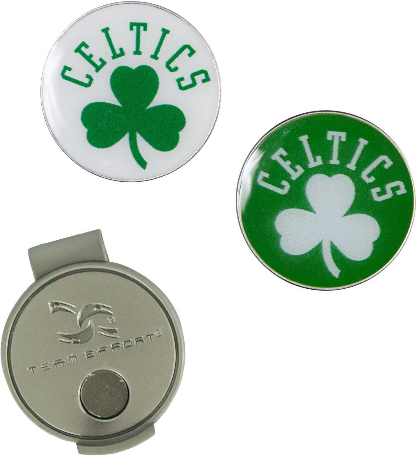 Team Effort Boston Celtics Hat Clip and Ball Markers Set