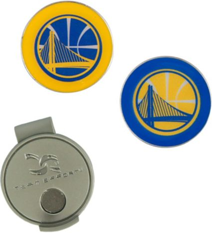 Team Effort Golden State Warriors Hat Clip and Ball Markers Set