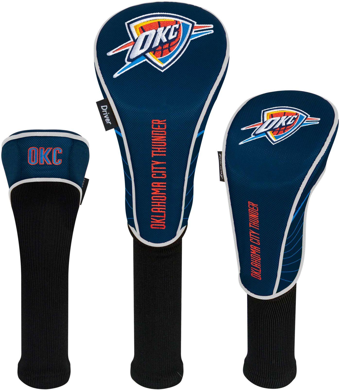 Team Effort Oklahoma City Thunder Headcovers - 3 Pack
