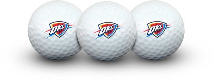 Team Effort Oklahoma City Thunder Golf Balls – 3 Pack