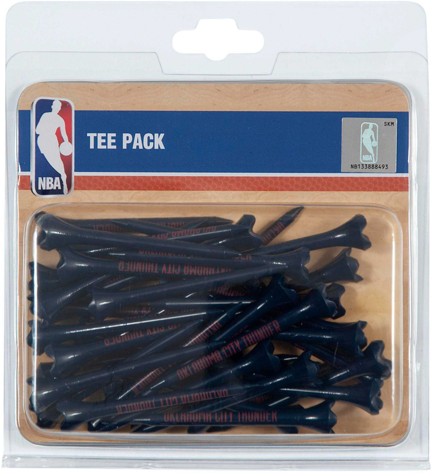 "Team Effort Oklahoma City Thunder 2.75"" Golf Tees - 40 Pack"