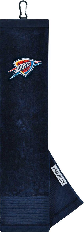 Team Effort Oklahoma City Thunder Embroidered Face/Club Tri-Fold Towel