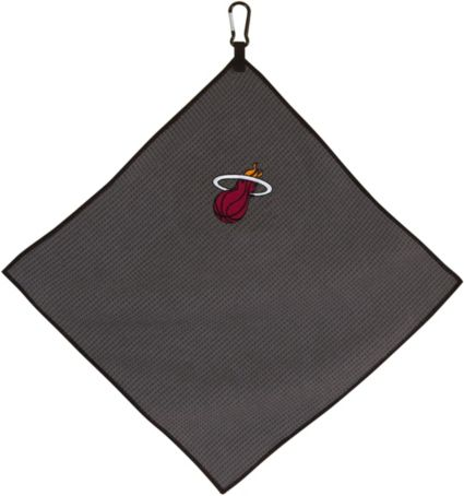 "Team Effort Miami Heat 15"" x 15"" Microfiber Golf Towel"