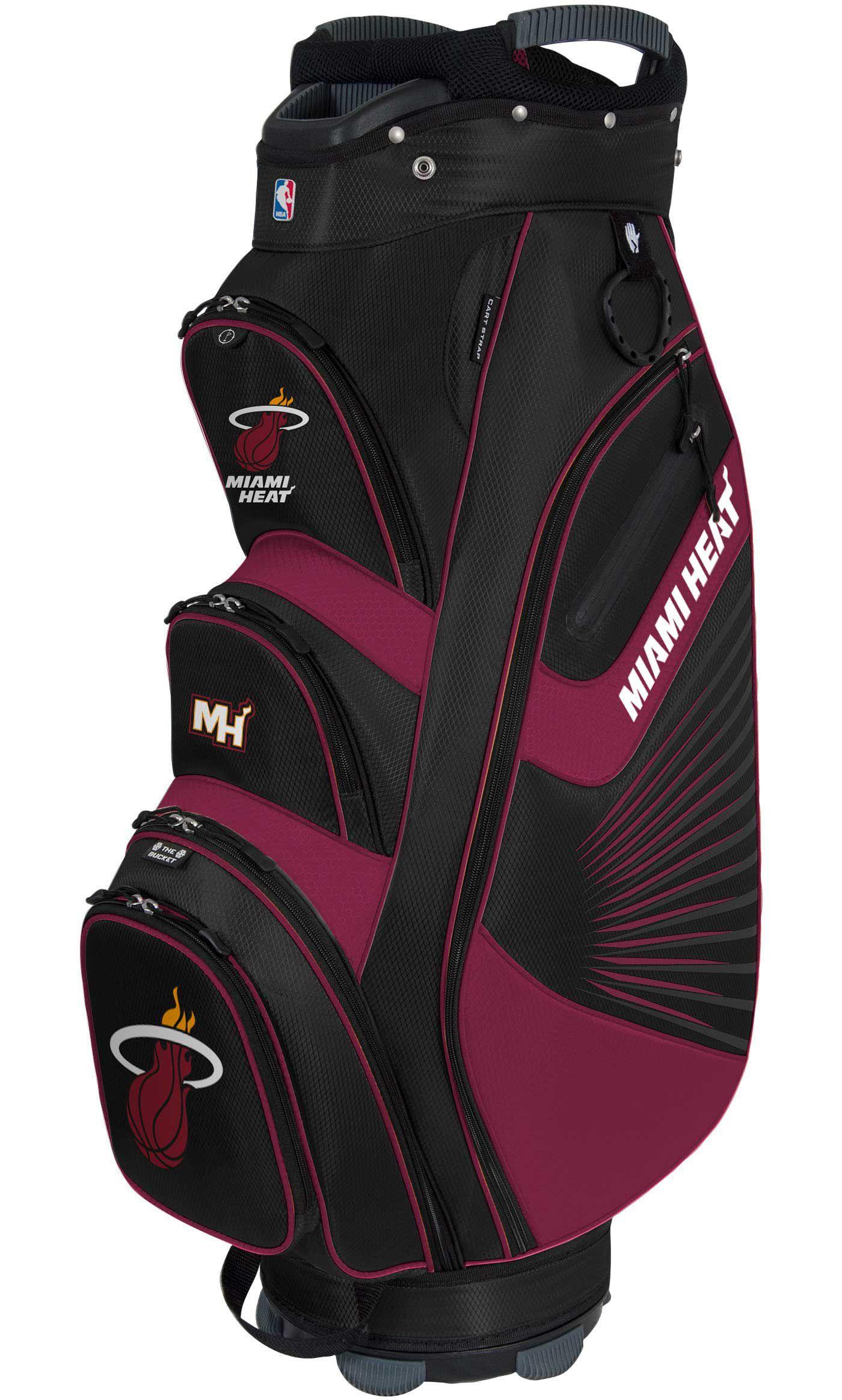 Team Effort Miami Heat Bucket II Cooler Cart Bag