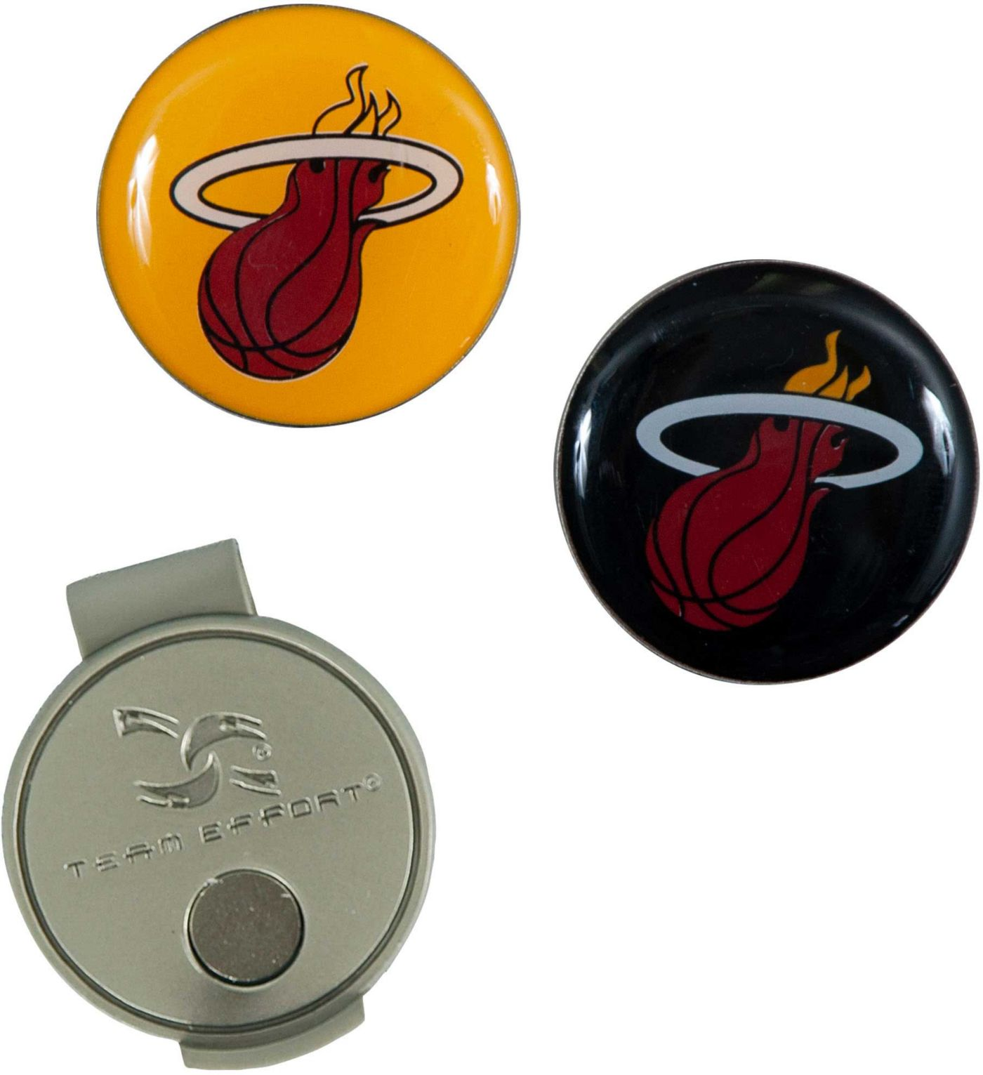 Team Effort Miami Heat Hat Clip and Ball Markers Set