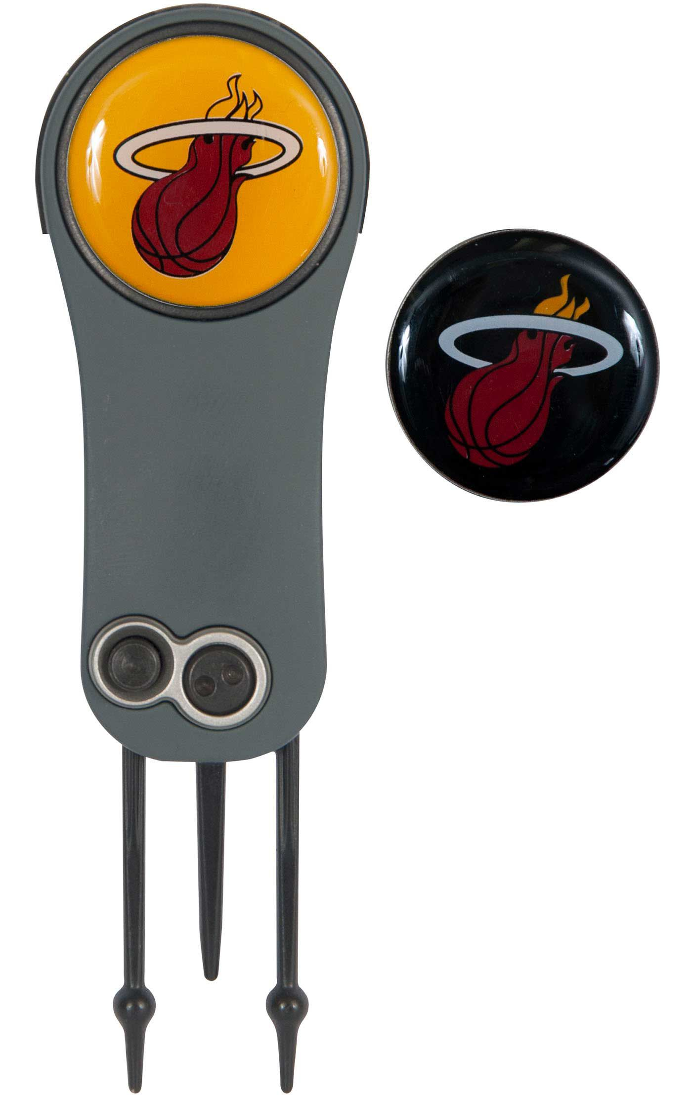 Team Effort Miami Heat Switchblade Divot Tool and Ball Marker Set