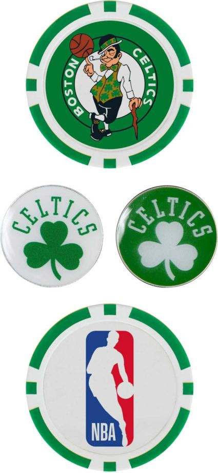 Team Effort Boston Celtics Ball Marker Set