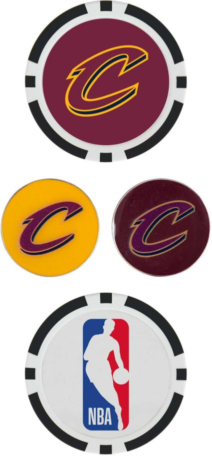 Team Effort Cleveland Cavaliers Ball Marker Set