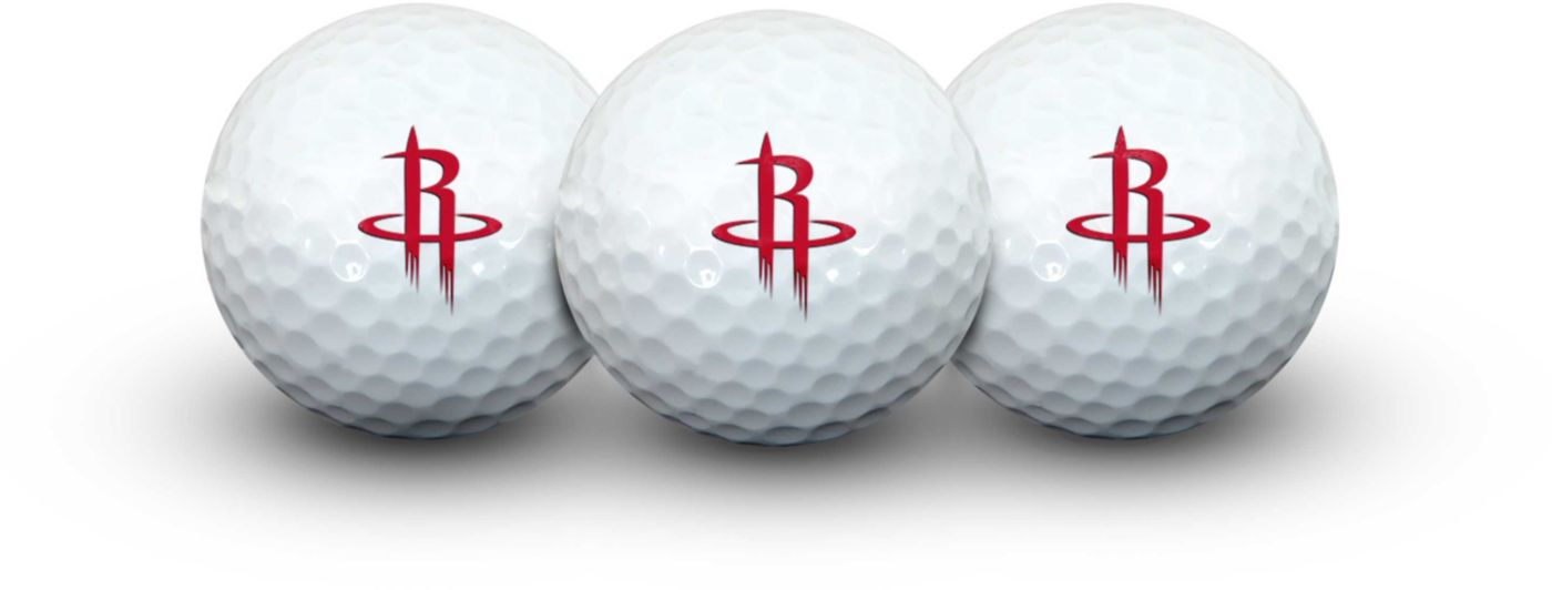 Team Effort Houston Rockets Golf Balls – 3 Pack