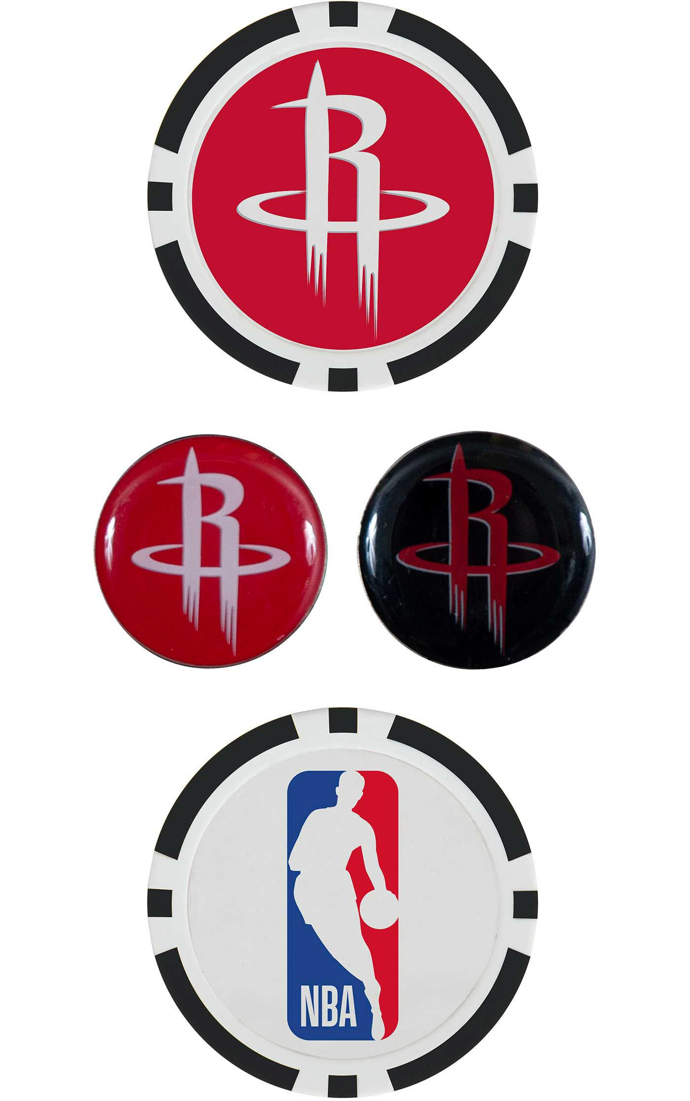 Team Effort Houston Rockets Ball Marker Set