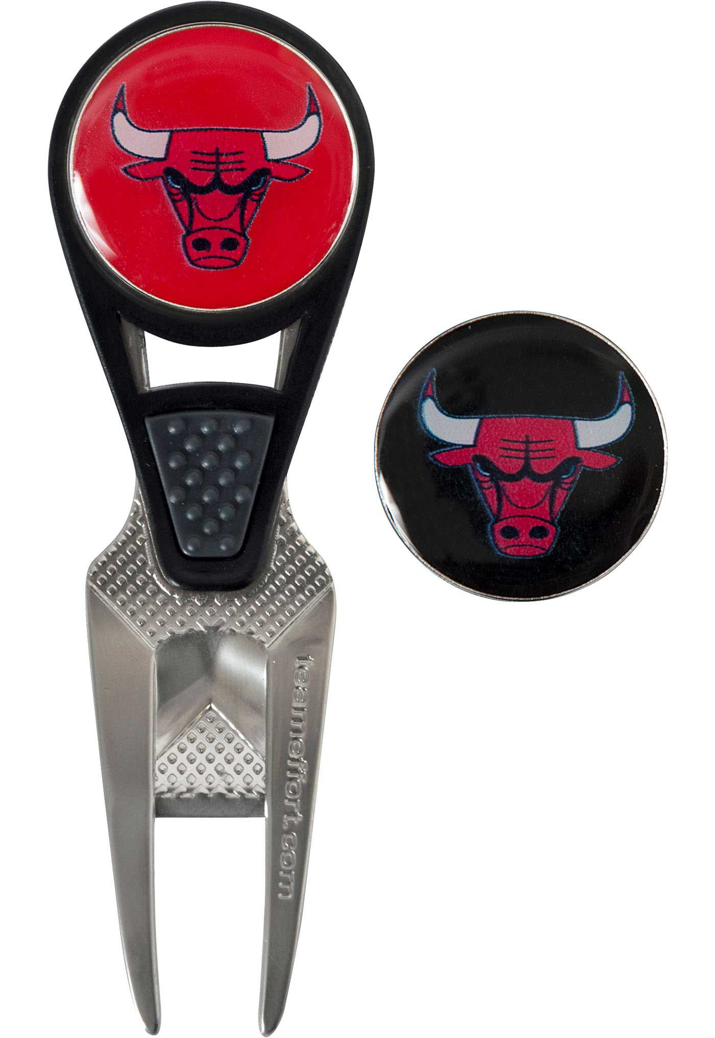 Team Effort Chicago Bulls CVX Divot Tool and Ball Marker Set
