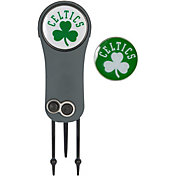Team Effort Boston Celtics Switchblade Divot Tool and Ball Marker Set