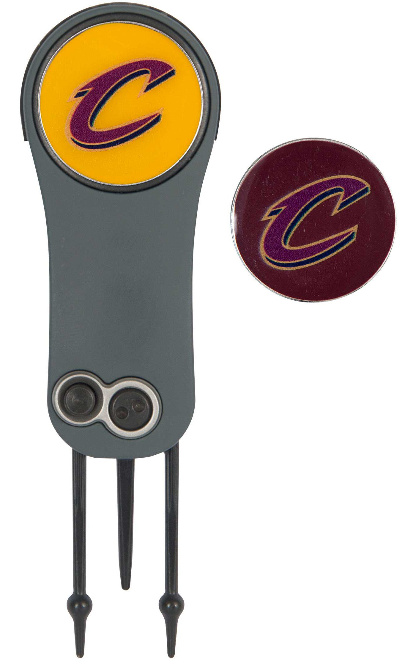 Team Effort Cleveland Cavaliers Switchblade Divot Tool and Ball Marker Set