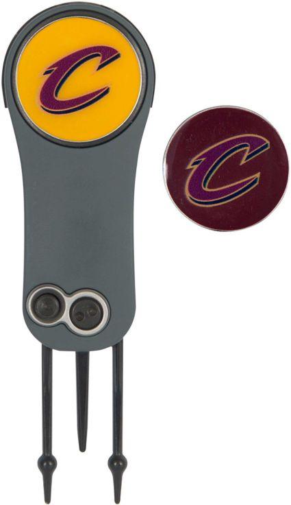 Team Effort Cleveland Cavaliers Switchblade Divot Tool and Ball Marker Set