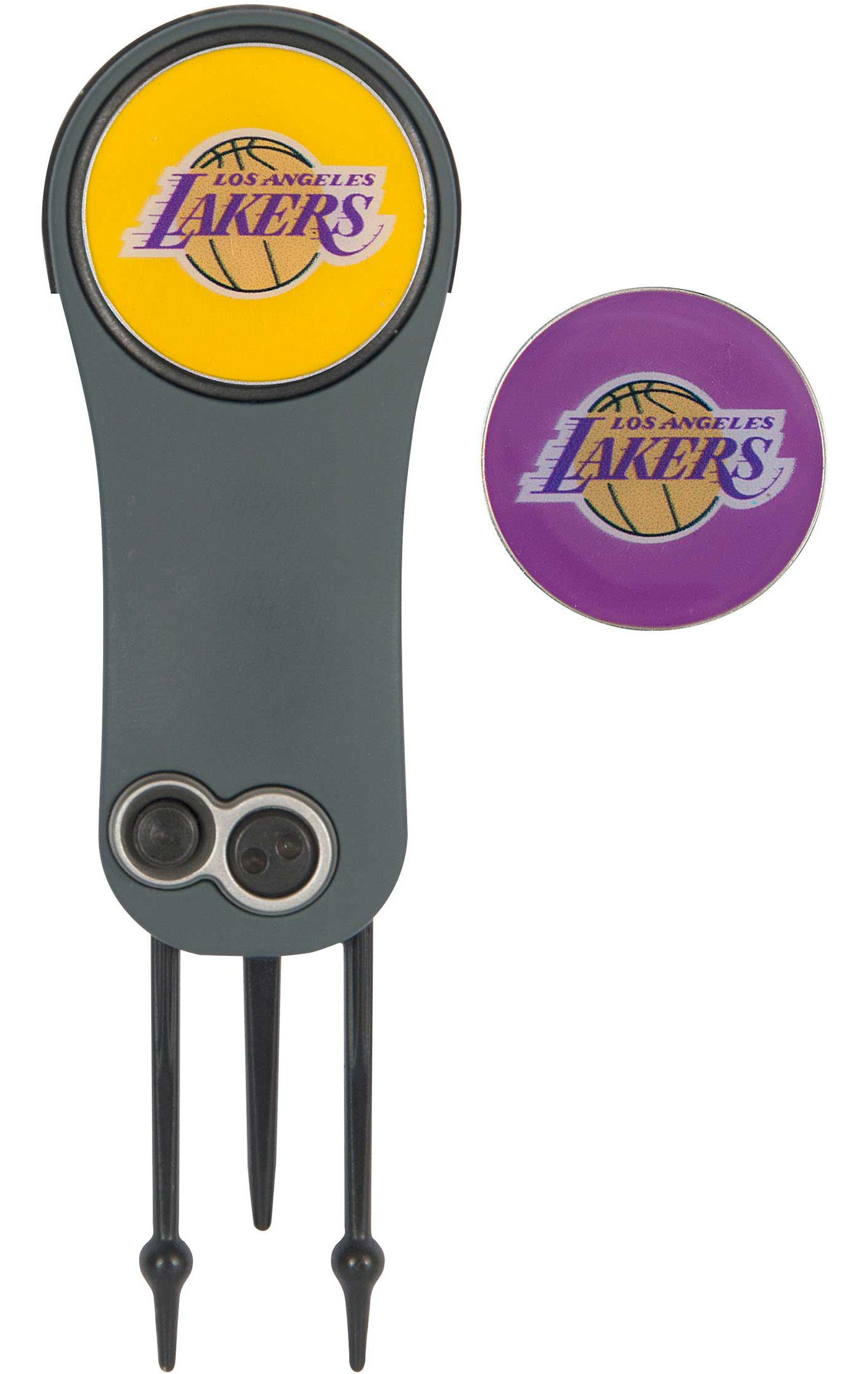 Team Effort Los Angeles Lakers Switchblade Divot Tool and Ball Marker Set