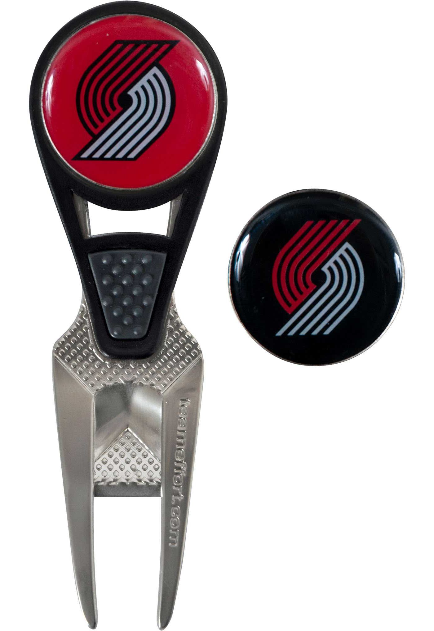 Team Effort Portland Trail Blazers CVX Divot Tool and Ball Marker Set