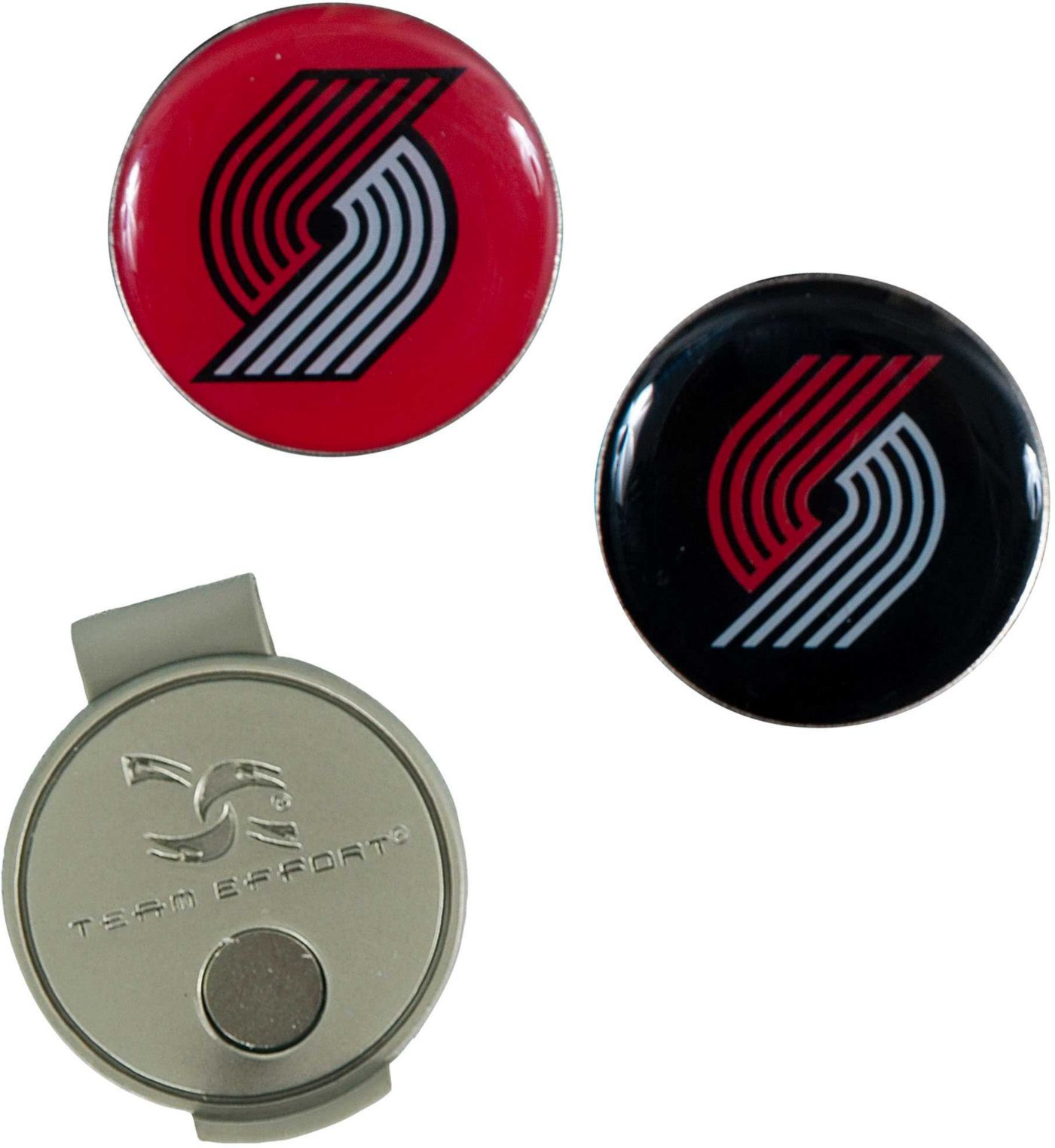 Team Effort Portland Trail Blazers Hat Clip and Ball Markers Set