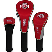 Team Effort Ohio State Buckeyes Headcovers - 3 Pack