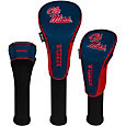 Team Effort Ole Miss Rebels Headcovers - 3 Pack