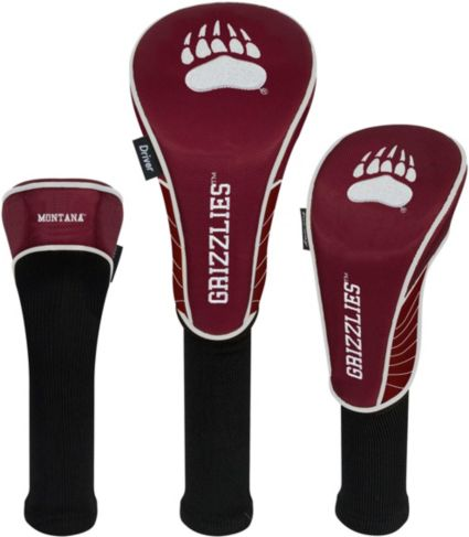 Team Effort Montana Grizzlies Headcovers - 3 Pack