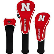 Team Effort Nebraska Cornhuskers Headcovers - 3 Pack