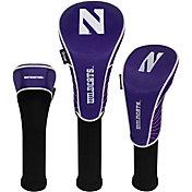 Team Effort Northwestern Wildcats Headcovers - 3 Pack