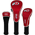 Team Effort Utah Utes Headcovers - 3 Pack